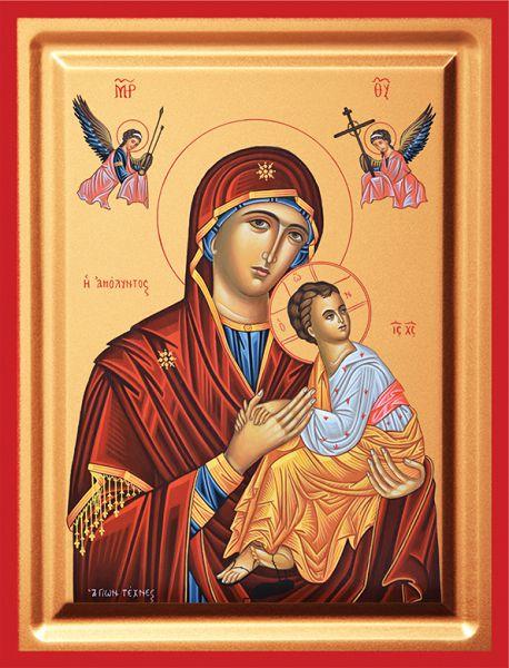 Βυζαντινές Εικόνες - Εικόνα Παναγία η Αμόλυντος