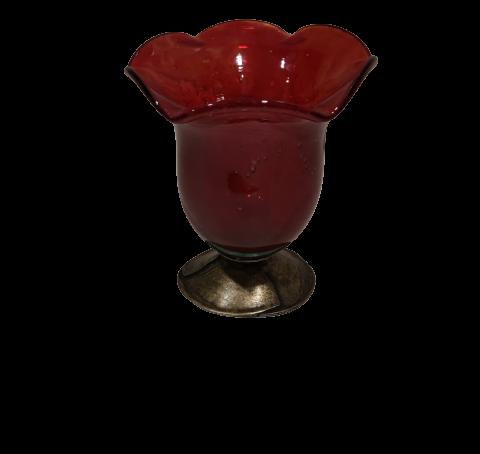 Επιτραπέζιο καντήλι από φυσητό γυαλί