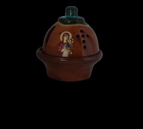 Επιτραπέζιο κεραμικό καντήλι