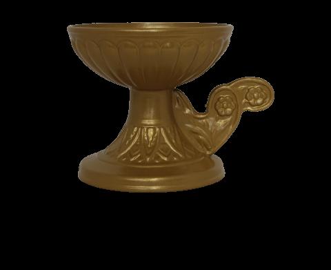 Θυμιατό Μεταλλικό Κούπα Χρυσό