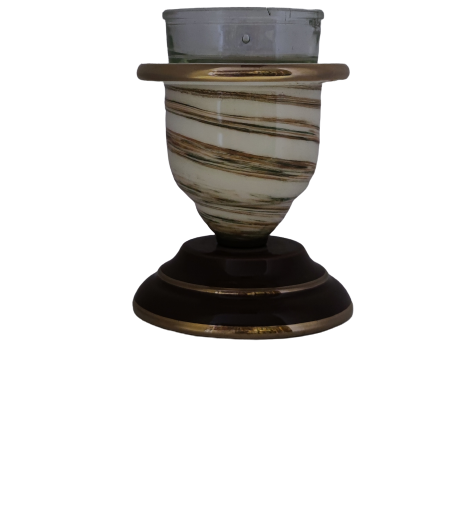 Porcelain Table Candle