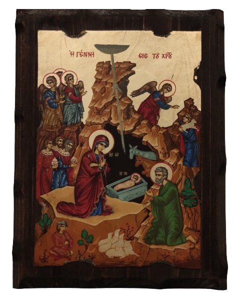 Εικόνα η Γέννηση του Χριστού