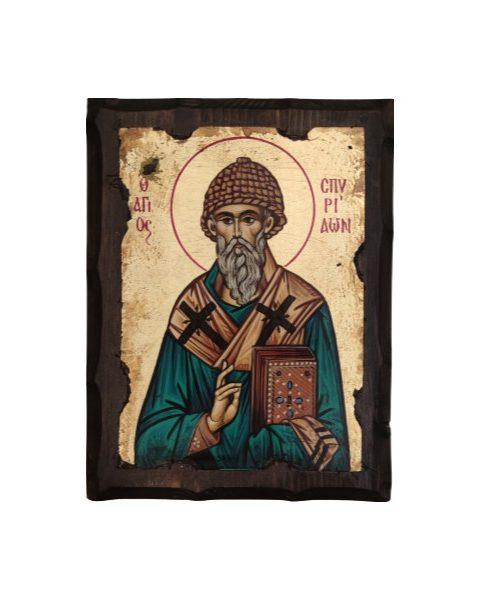 Εικόνα ο Άγιος Σπυρίδων ο Θαυματουργός